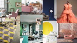 Кои са модерните цветове в интериорите за 2019 година