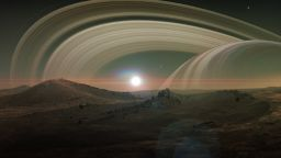 На спътника на Сатурн - Титан вали дъжд