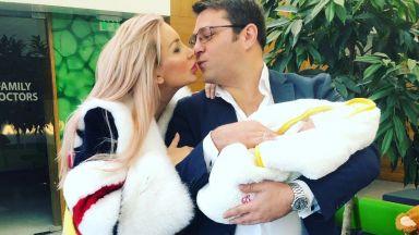 Антония Петрова показа бебето. Обяви и името