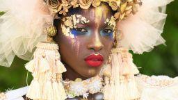 Уникални бодипейнт творения от Екваториална Гвинея (снимки)