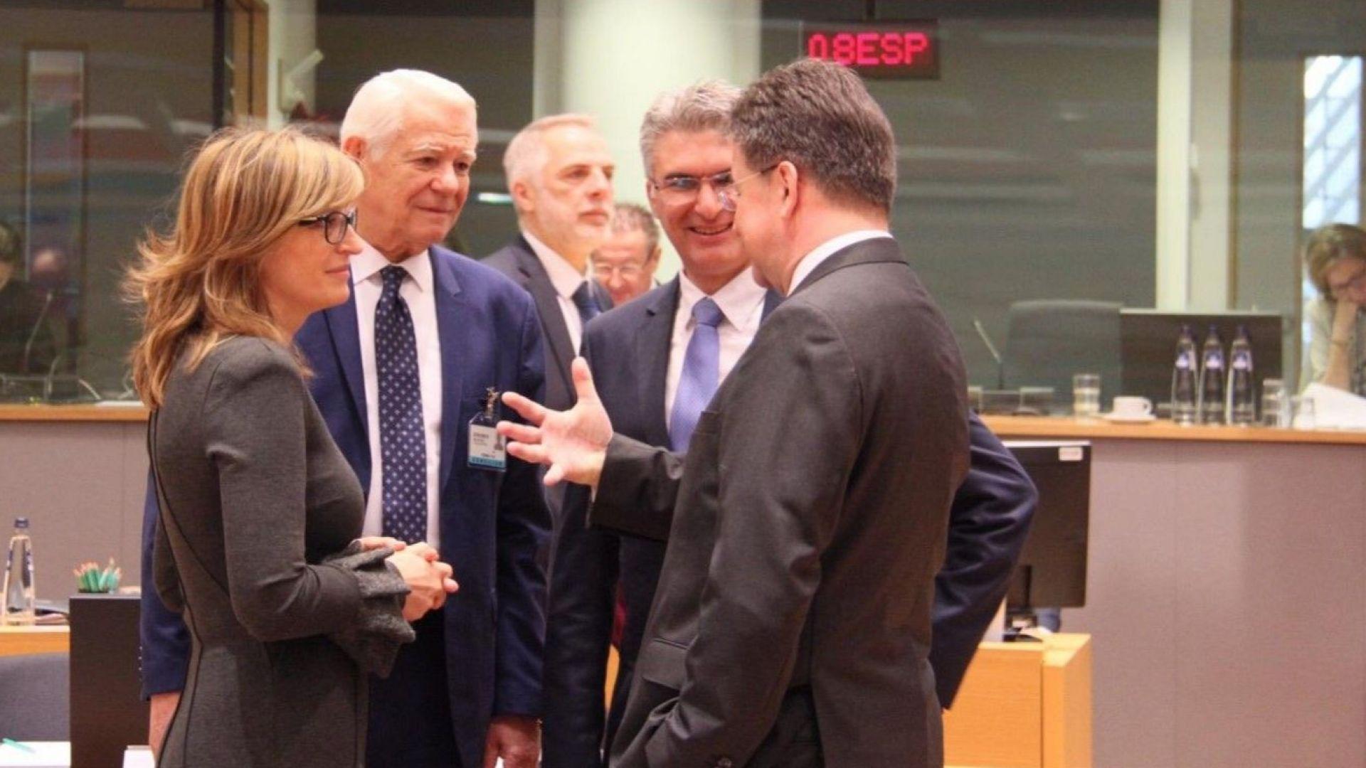 Снимка: Захариева пред колегите си от ЕС: Дезинформацията е сериозно изпитание за сигурността