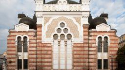 Заловиха вандала, разбил прозорците на Софийска синагога
