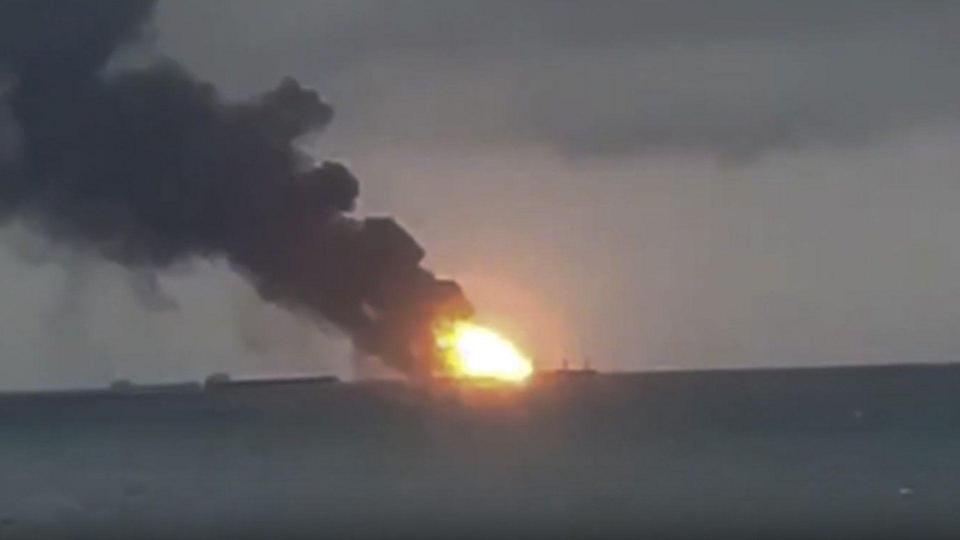 Пожарът в Черно море: Няма шанс за оцелели моряци