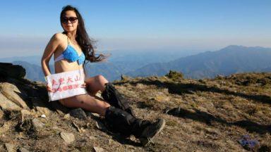 Планинарка, известна със снимките си по бикини, загина по време на преход