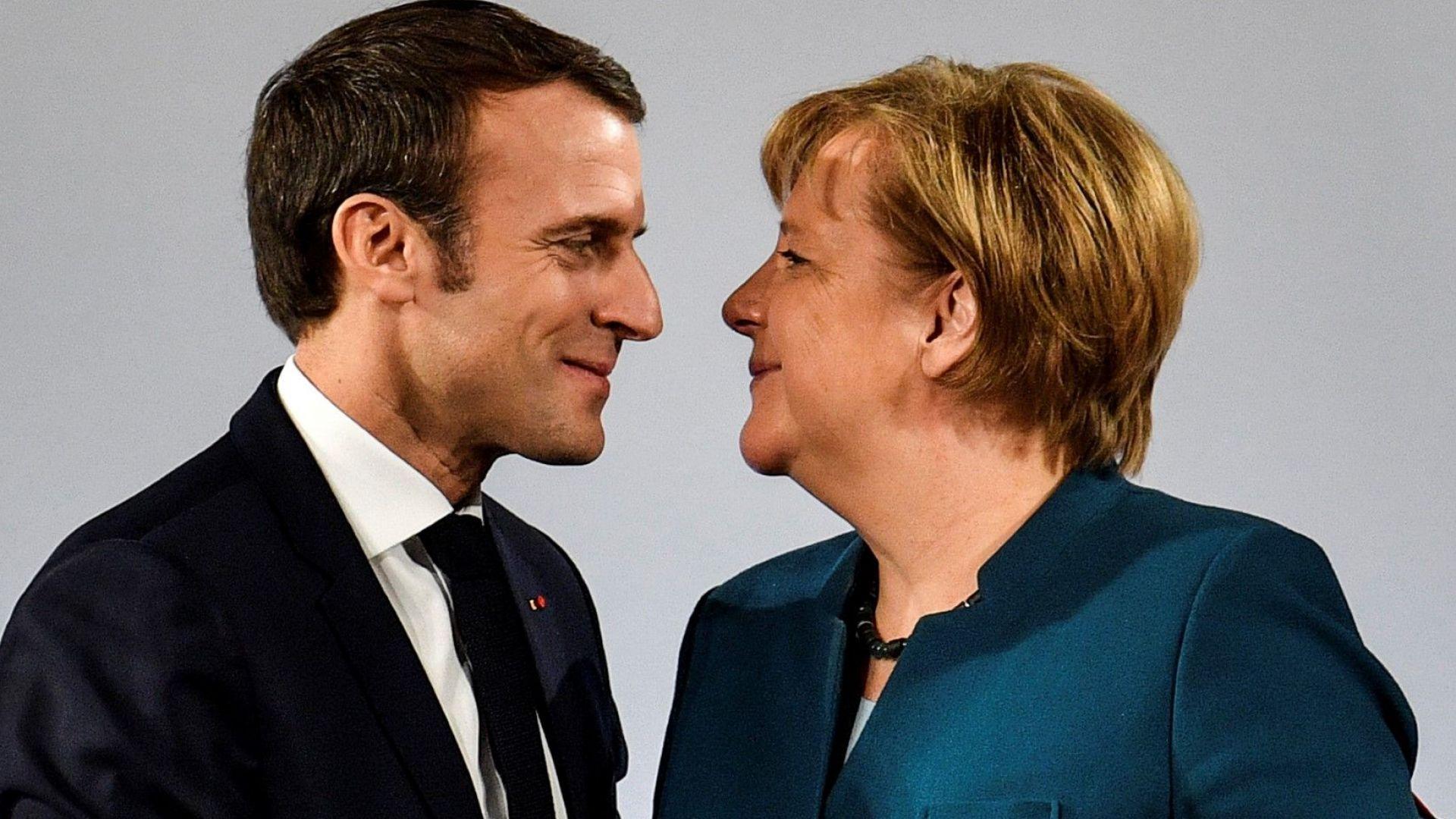 Макрон и Меркел подписаха нов договор за по-солидна Европа