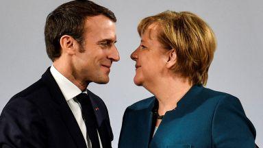 Макрон би подкрепил Меркел за наследник на Юнкер начело на ЕК