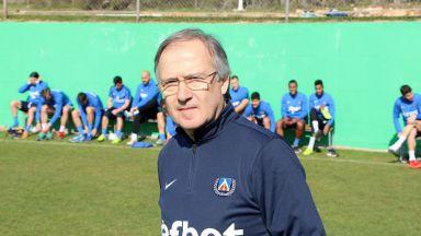 Дерменджиев: Имам дългосрочен план в Левски, не ме интересува националния тим