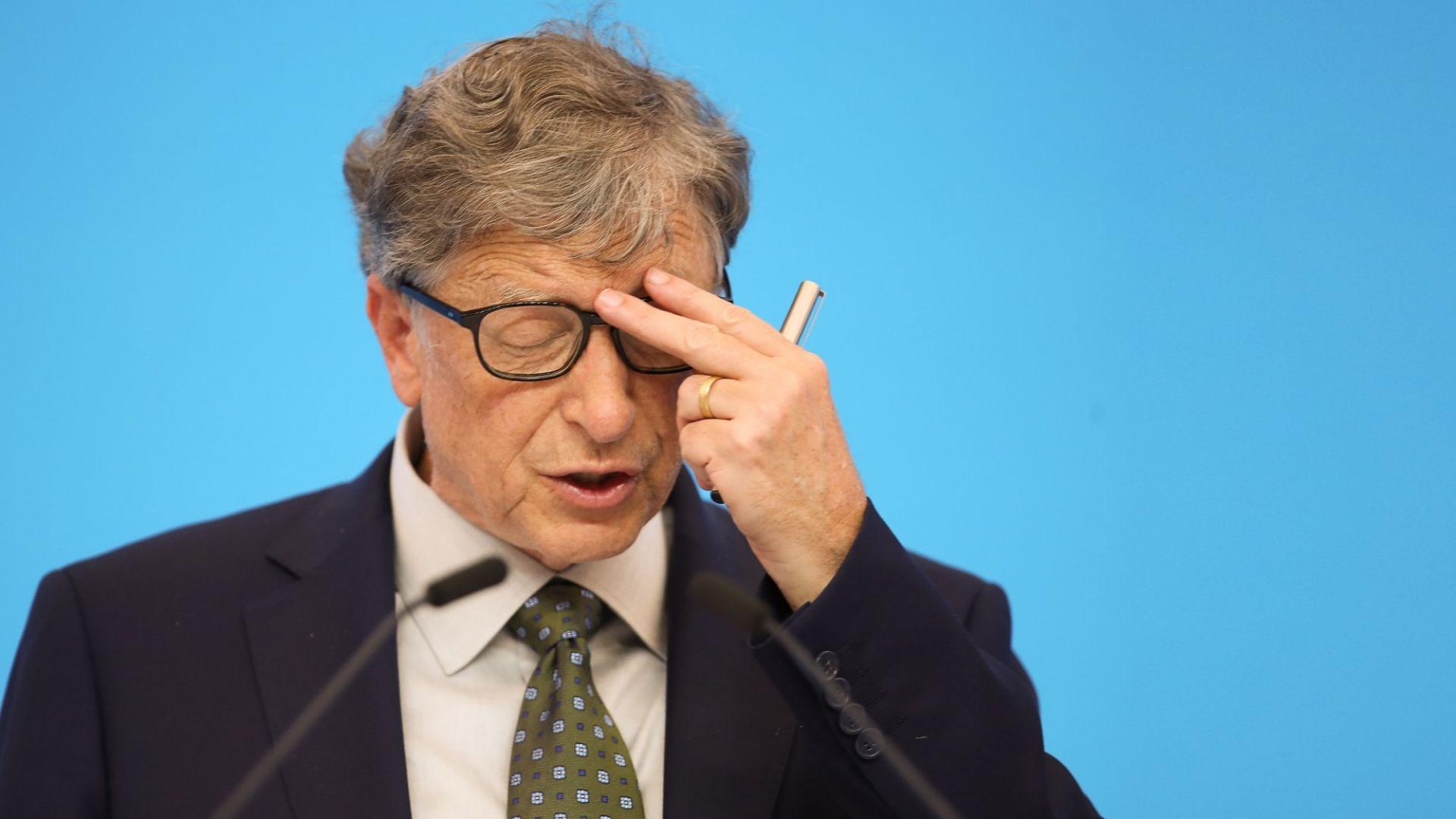 Бил Гейтс с пророческо предупреждение за силата на вирусите от 2015 г. (видео)