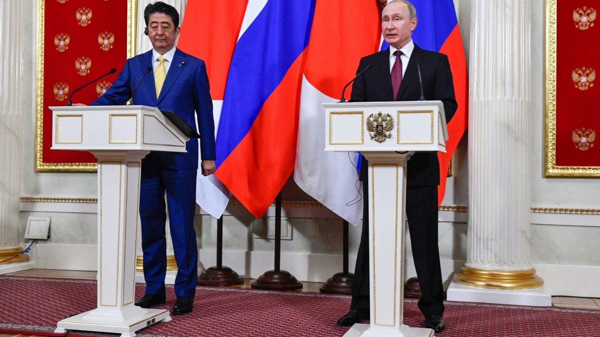Путин: До мирен договор между Русия и Япония  има да се свърши още много работа