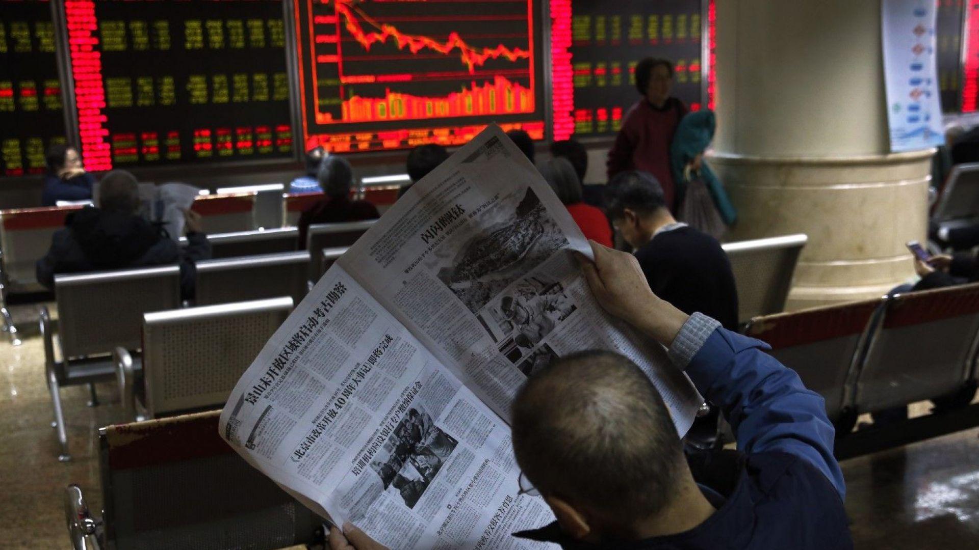 Пекин намалява прогнозите си за растеж