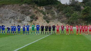 ЦСКА измъкна победата срещу китайци