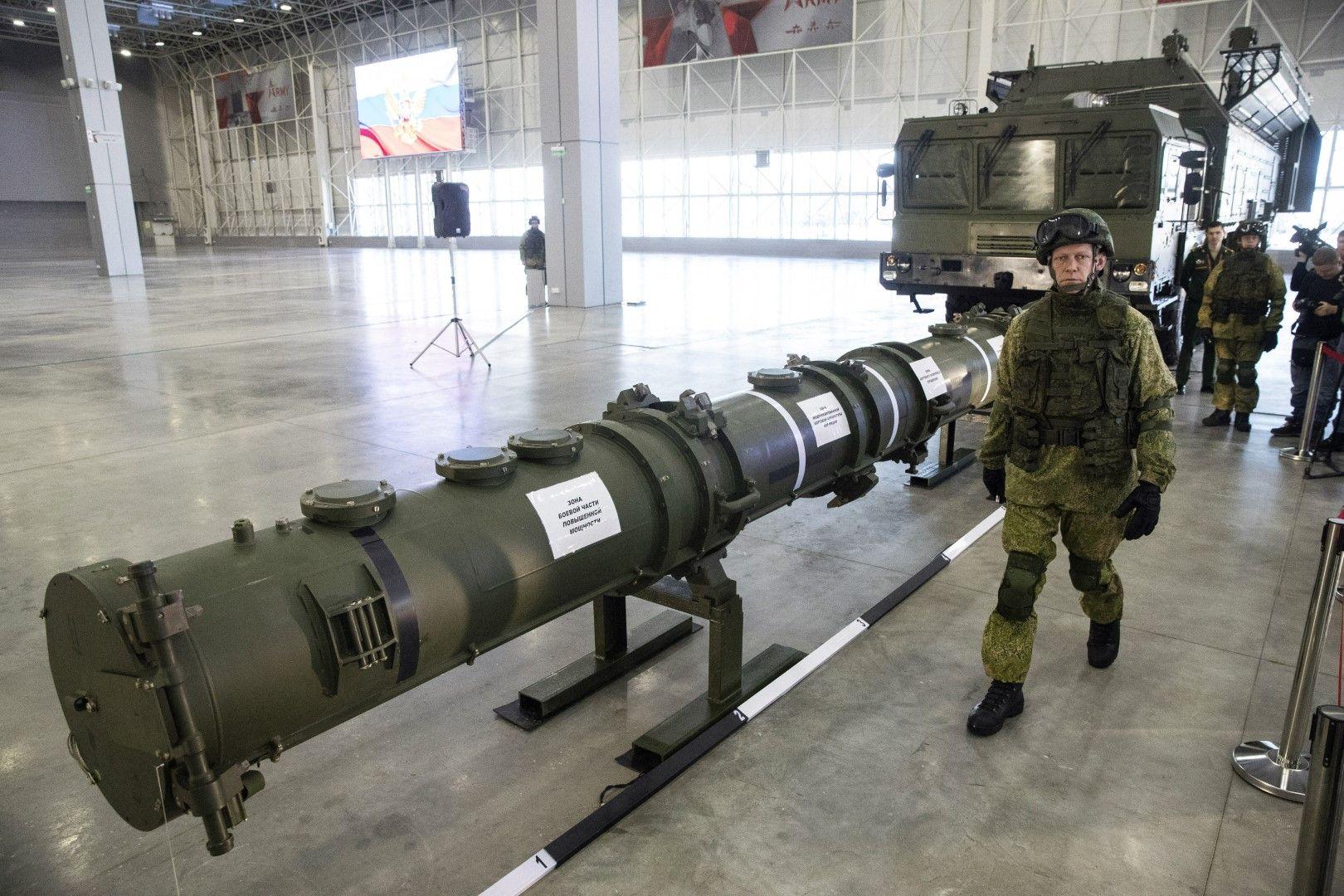 Русия отрича ракетата да нарушава договора