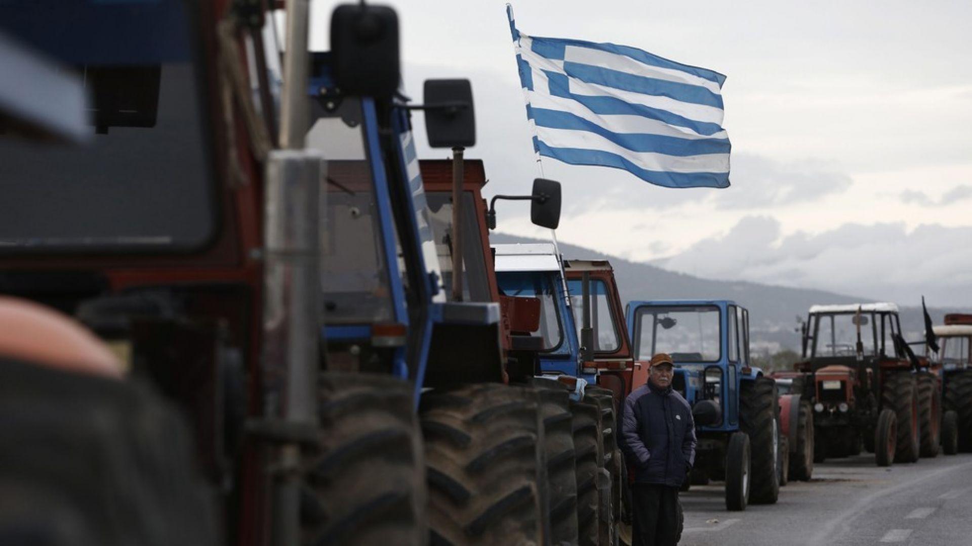 Гръцки фермери блокират основни пътища в страната