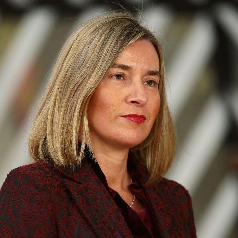 Федерика Могерини, Върховен представител на ЕС по въпросите на външните работи