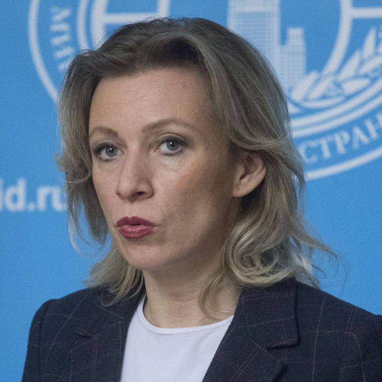 Мария Захарова, говорител на Министерството на външните работи на Русия
