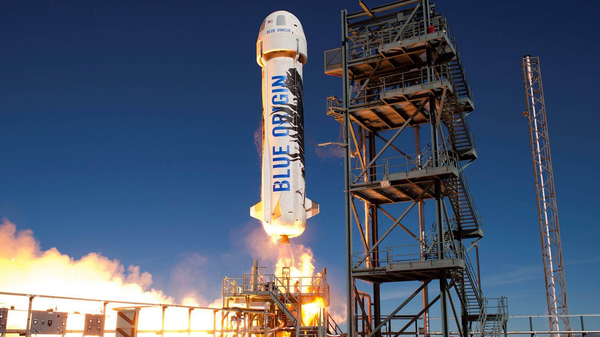Нов успех за космическата компания на Джеф Безос