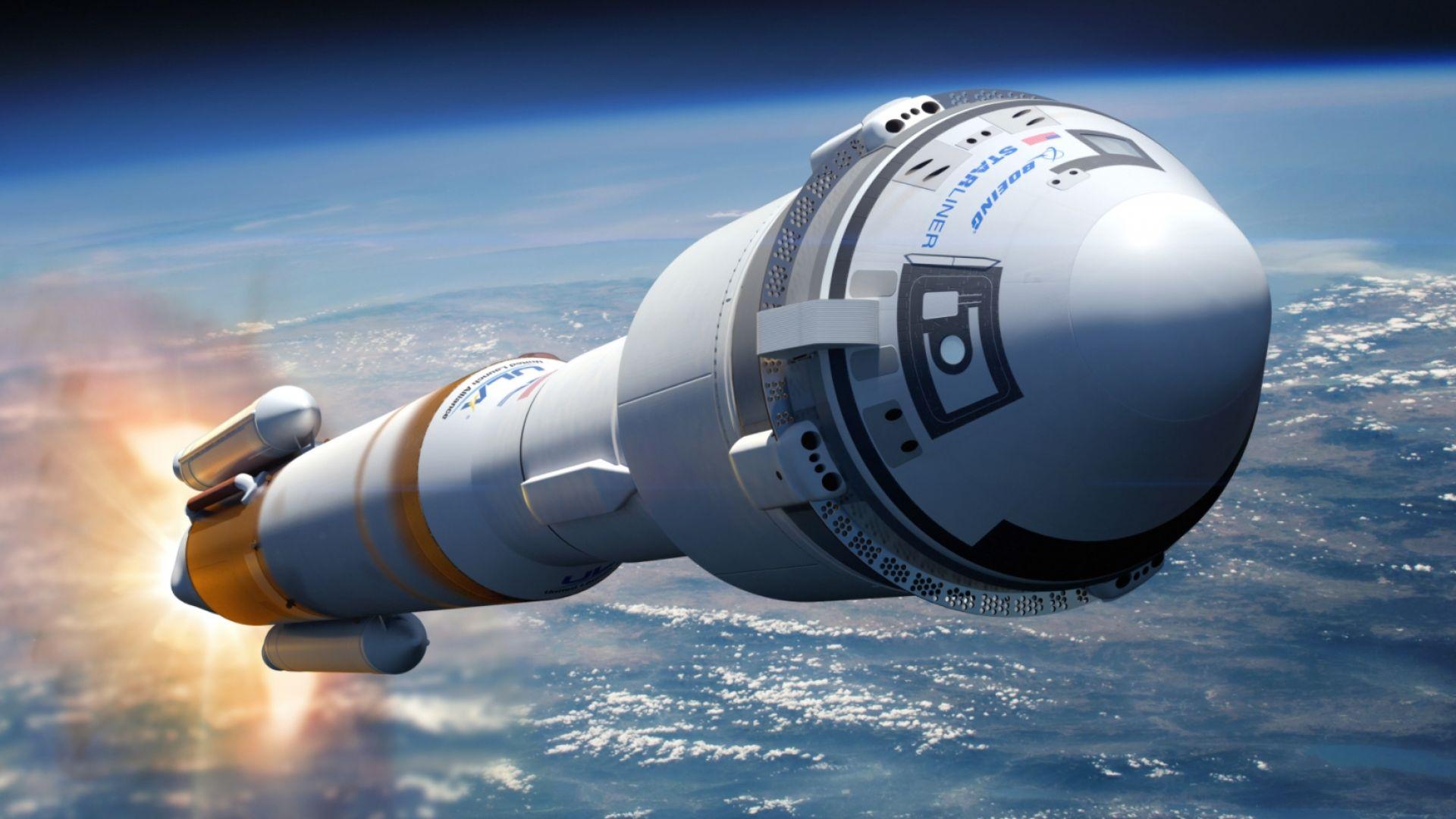 НАСА промени екипажа за първия полет на космическия кораб на Boeing