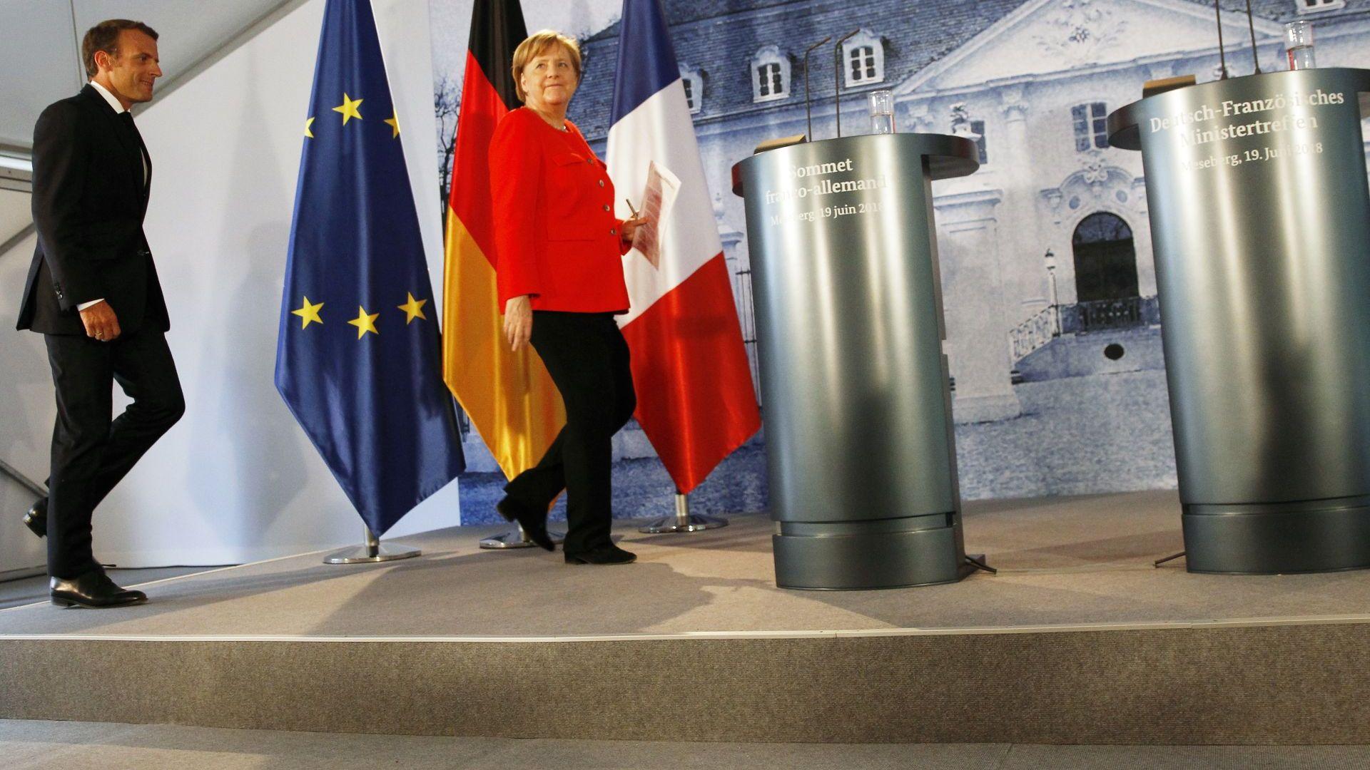 Сключеният между Франция и Германия договор за приятелство е събитие,