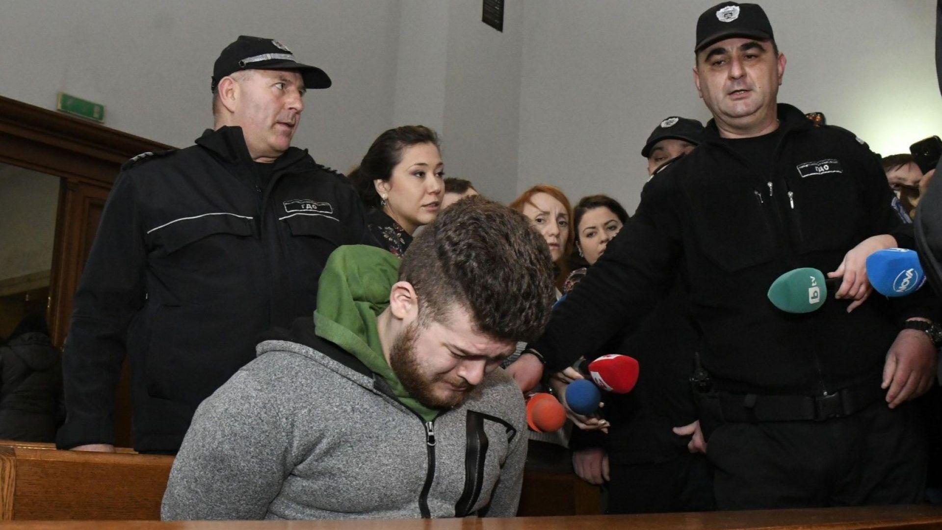 Васил Василев, който е обвинен, че е удушил приятелката си
