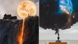 Фотограф от Турция създава невероятни сюрреалистични светове