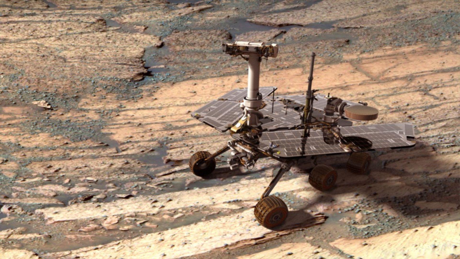 """Марсоходът """"Опортюнити"""" - 15 години на Червената планета"""
