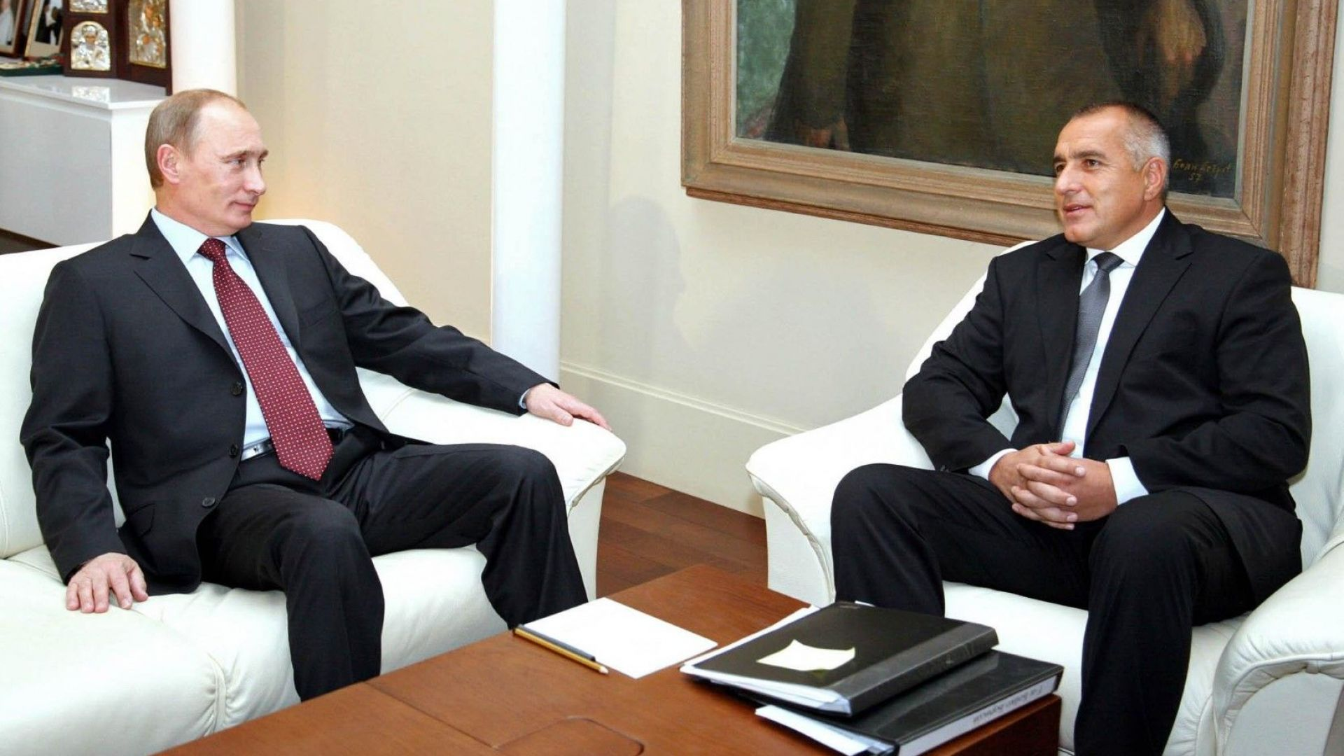 Борисов разговаря по телефона с Путин за сътрудничеството в енергетиката