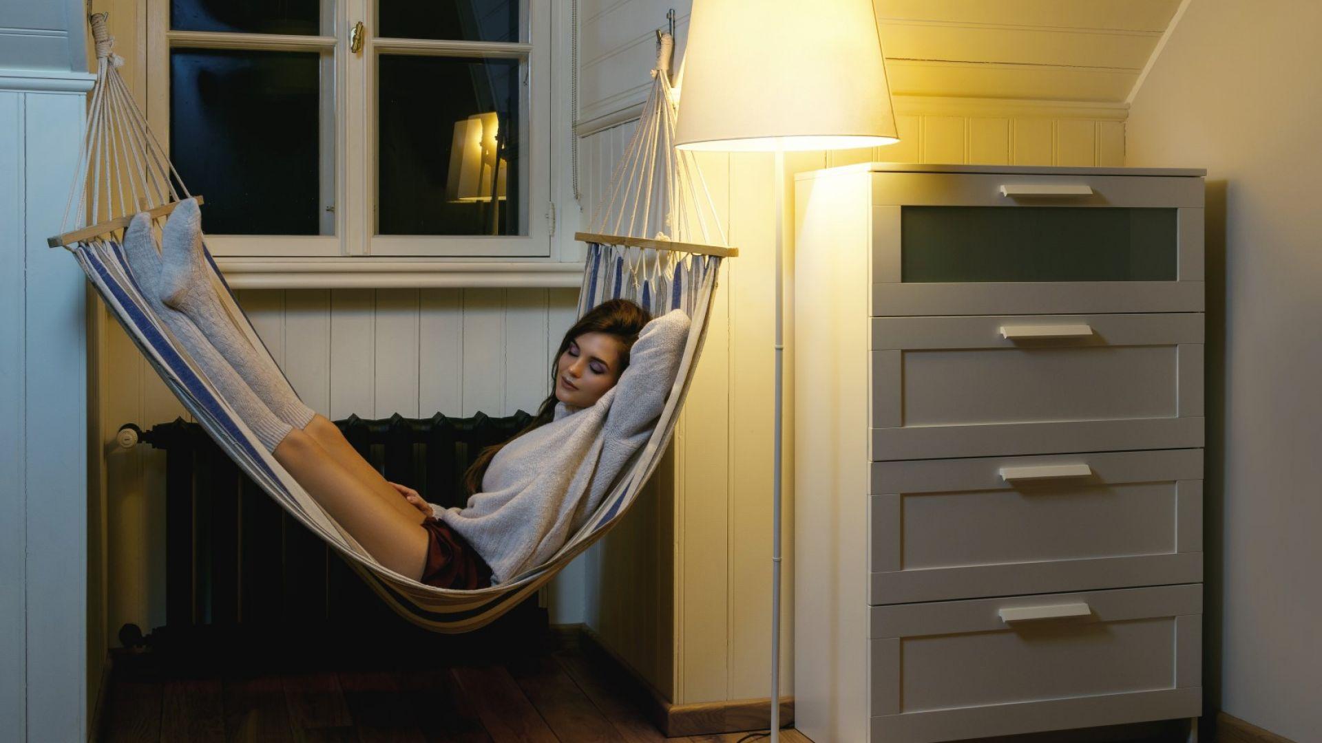 Учени препоръчаха да спим в хамаци