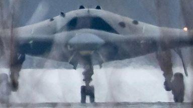 Заснеха секретен руски дрон