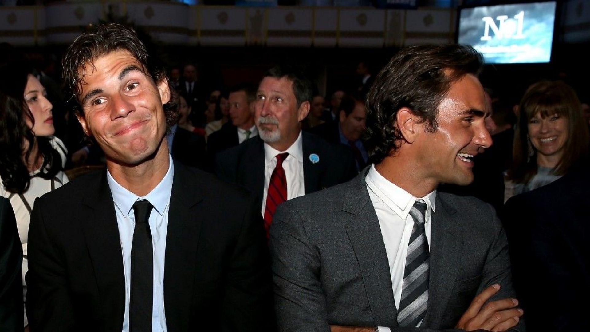 """Интересна прогноза: Федерер ще отпише """"Ролан Гарос"""", а Надал - US Open"""