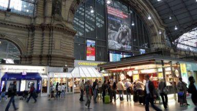Бомбена заплаха в Германия! Временно евакуираха 500 пътници от влак