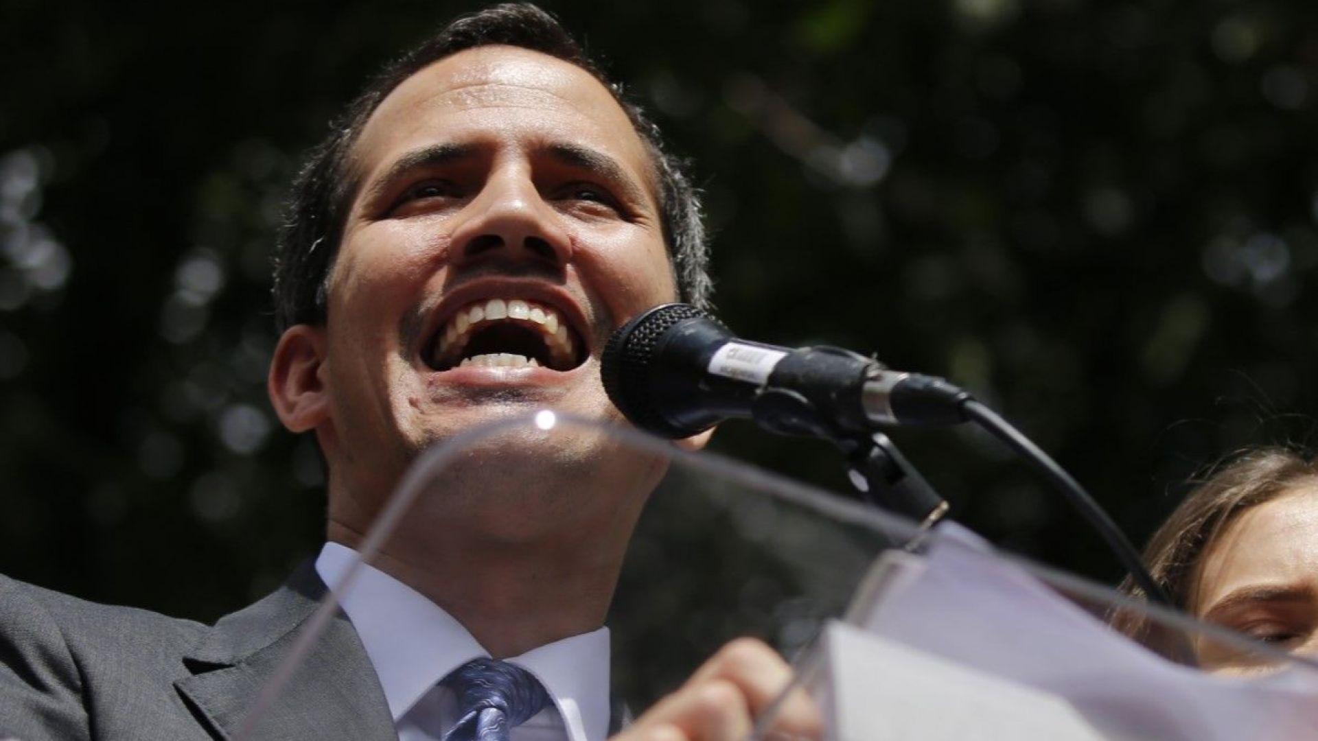 """Разследват Гуаидо за """"саботаж"""" на електрическата система на Венецуела"""