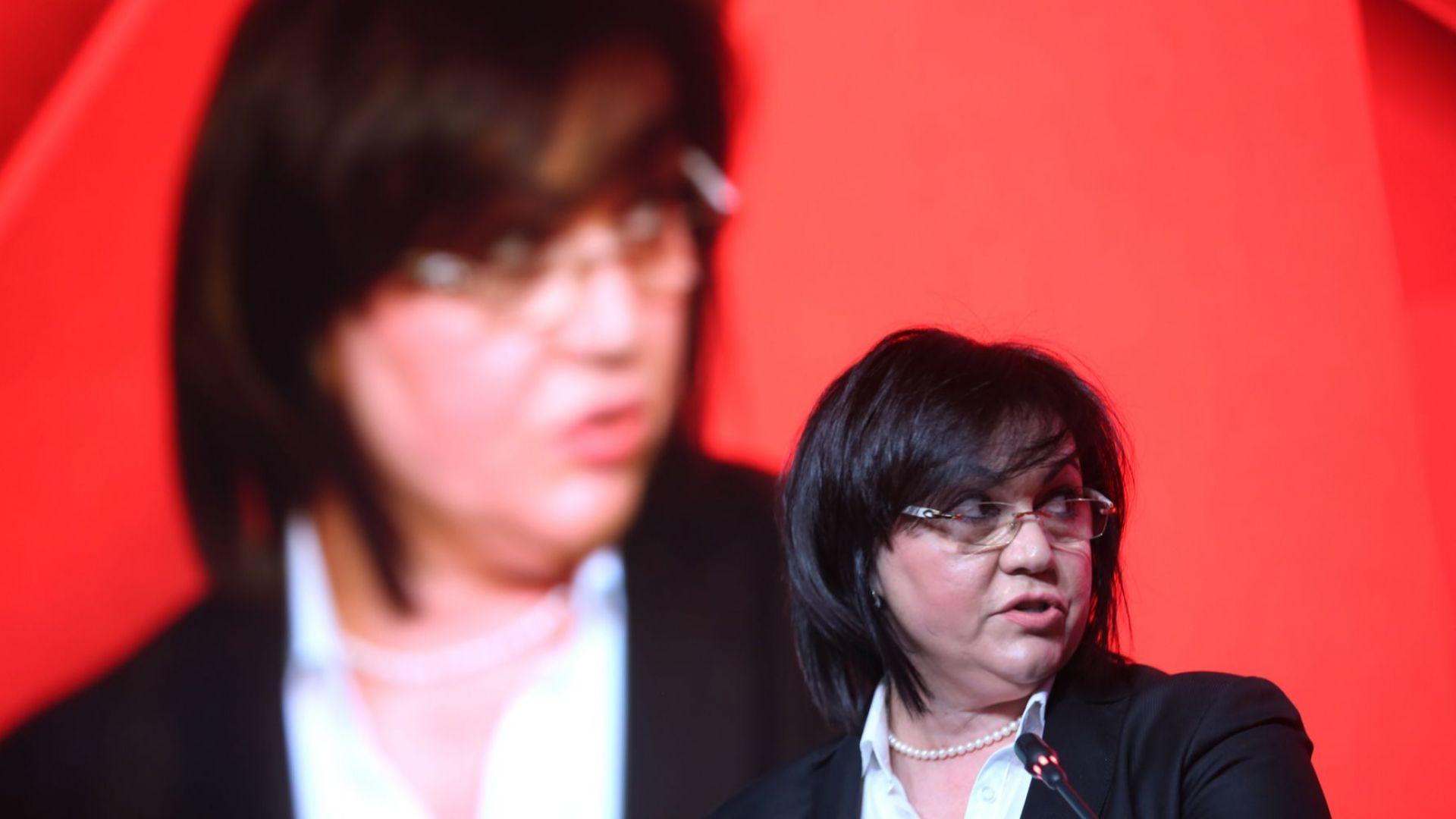 Корнелия Нинова: Ако победим на евроизборите, можем да отстраним ГЕРБ от властта