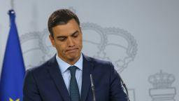 Аварийно кацане на самолета на испанския премиер