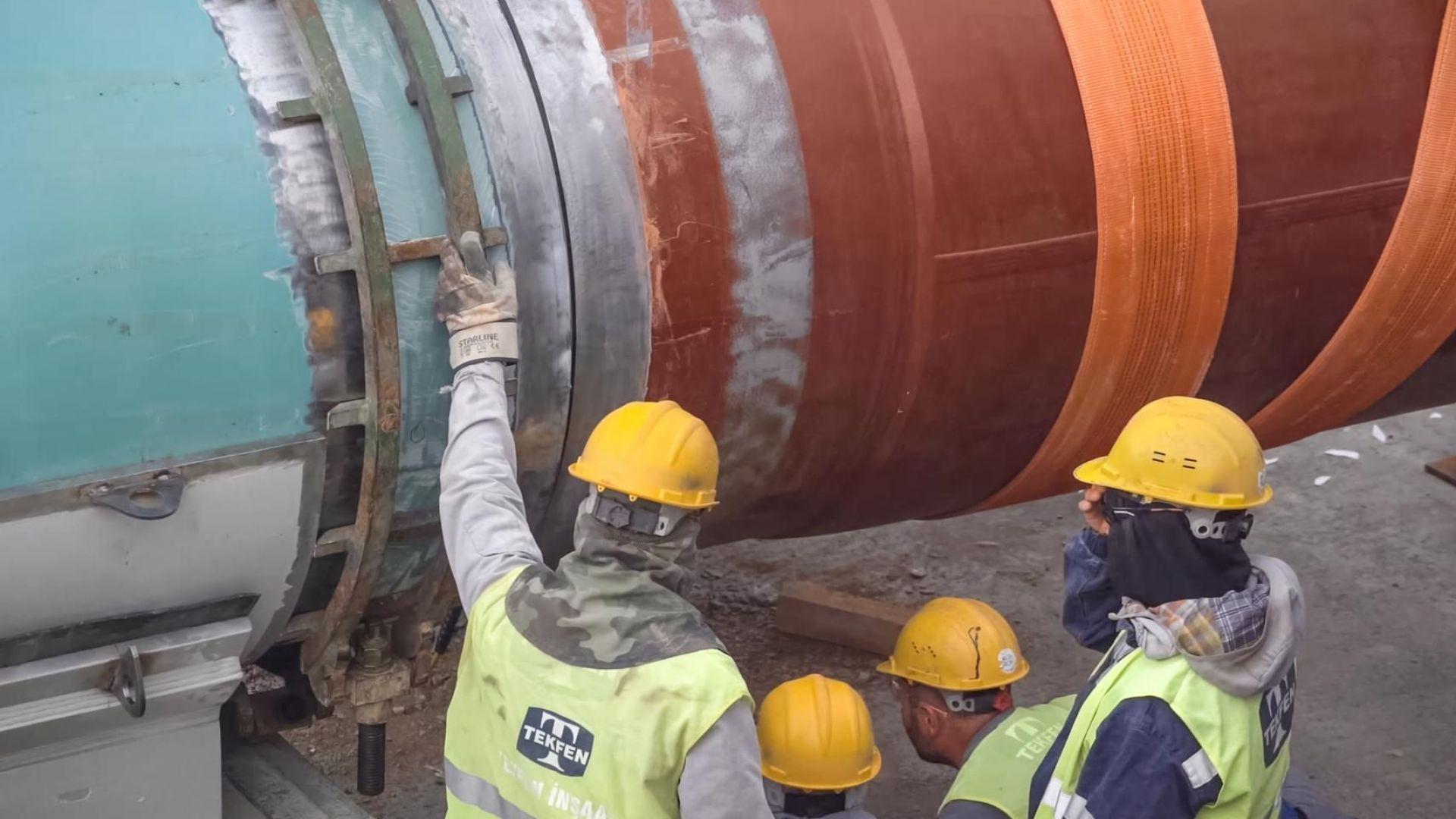 """""""Булгартрансгаз"""" обяви обществена поръчка за изграждане на част от Турски поток"""