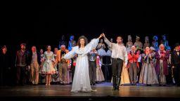 """Овации на премиерата на """"Фантомът на операта"""" в Музикалния театър"""