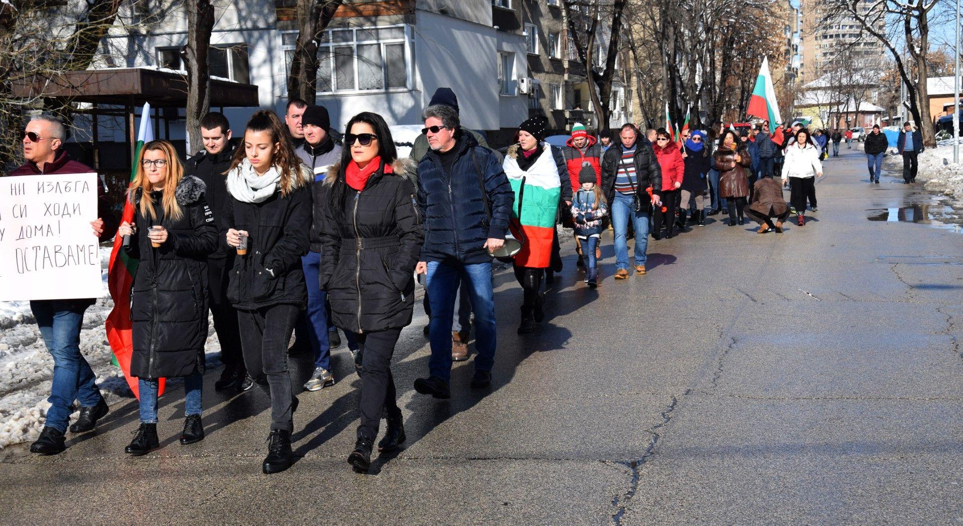 Протест във Видин с искане за бързо строитекство на магистрала Видин - София