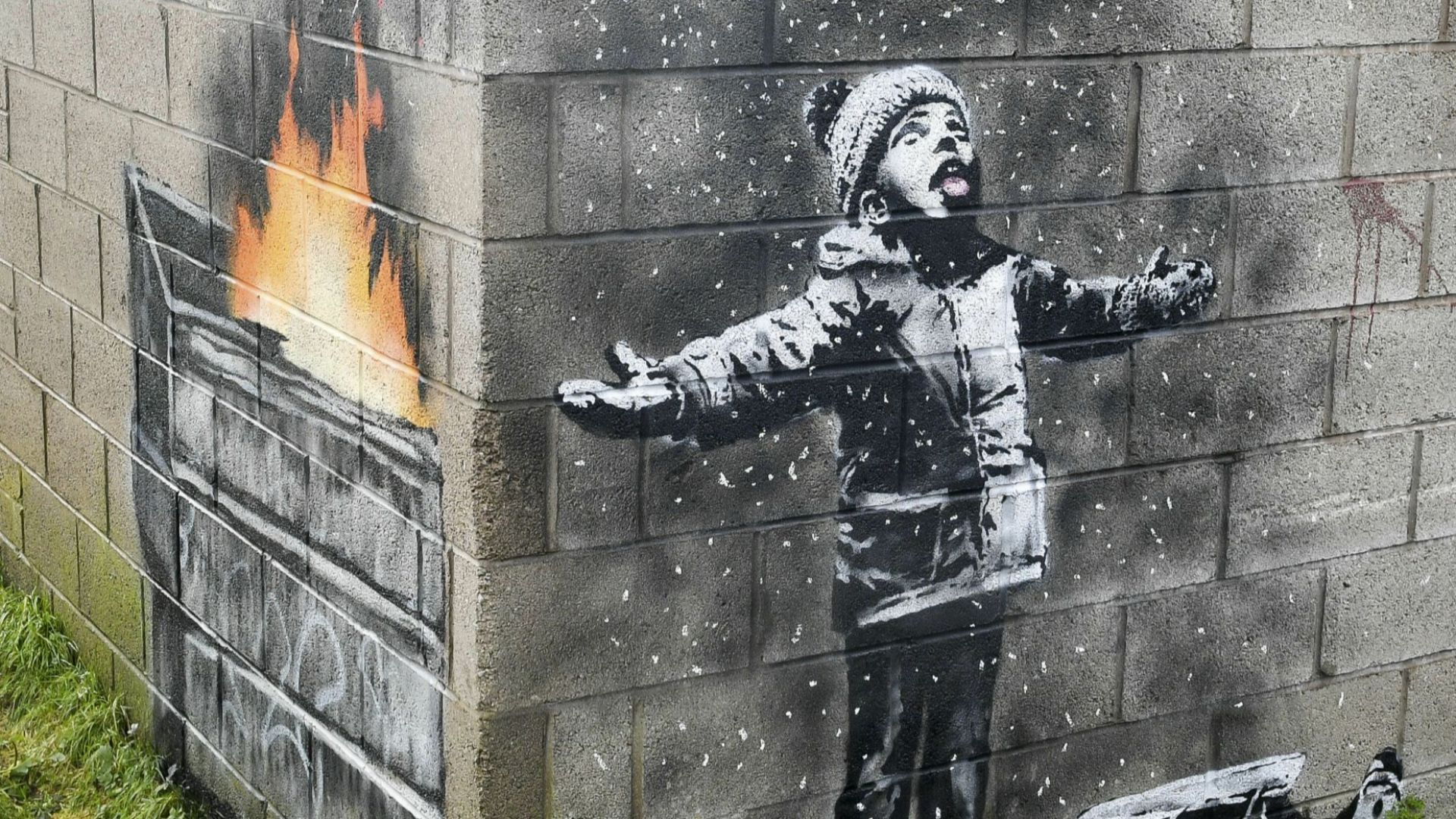"""Откраднаха творбата на Банкси в памет на жертвите от терора в """"Батаклан"""""""