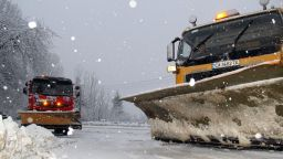 АПИ предупреждава шофьорите - идва сняг в понеделник
