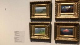 Откриха крадеца на картината на Куинджи от Третяковската галерия (видео)