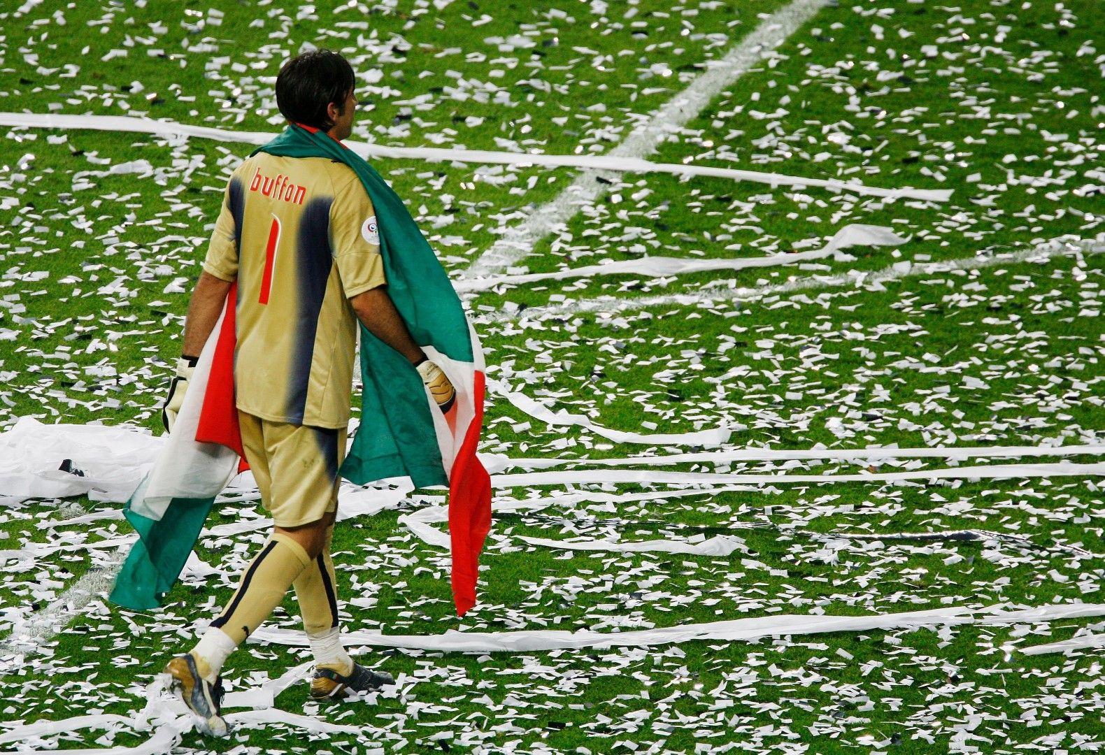 Световният шампион Буфон