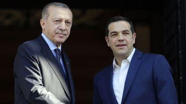 Ердоган към Ципрас: Не бъдете пристан за терористи