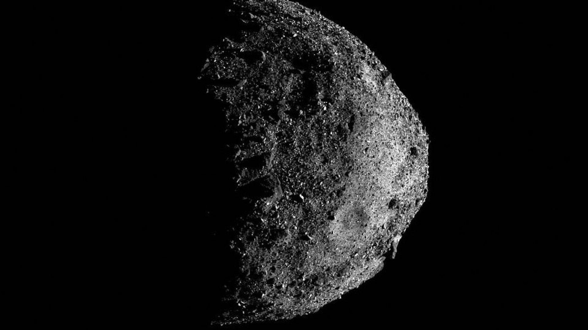 НАСА разкрива как изглежда повърхността на един астероид