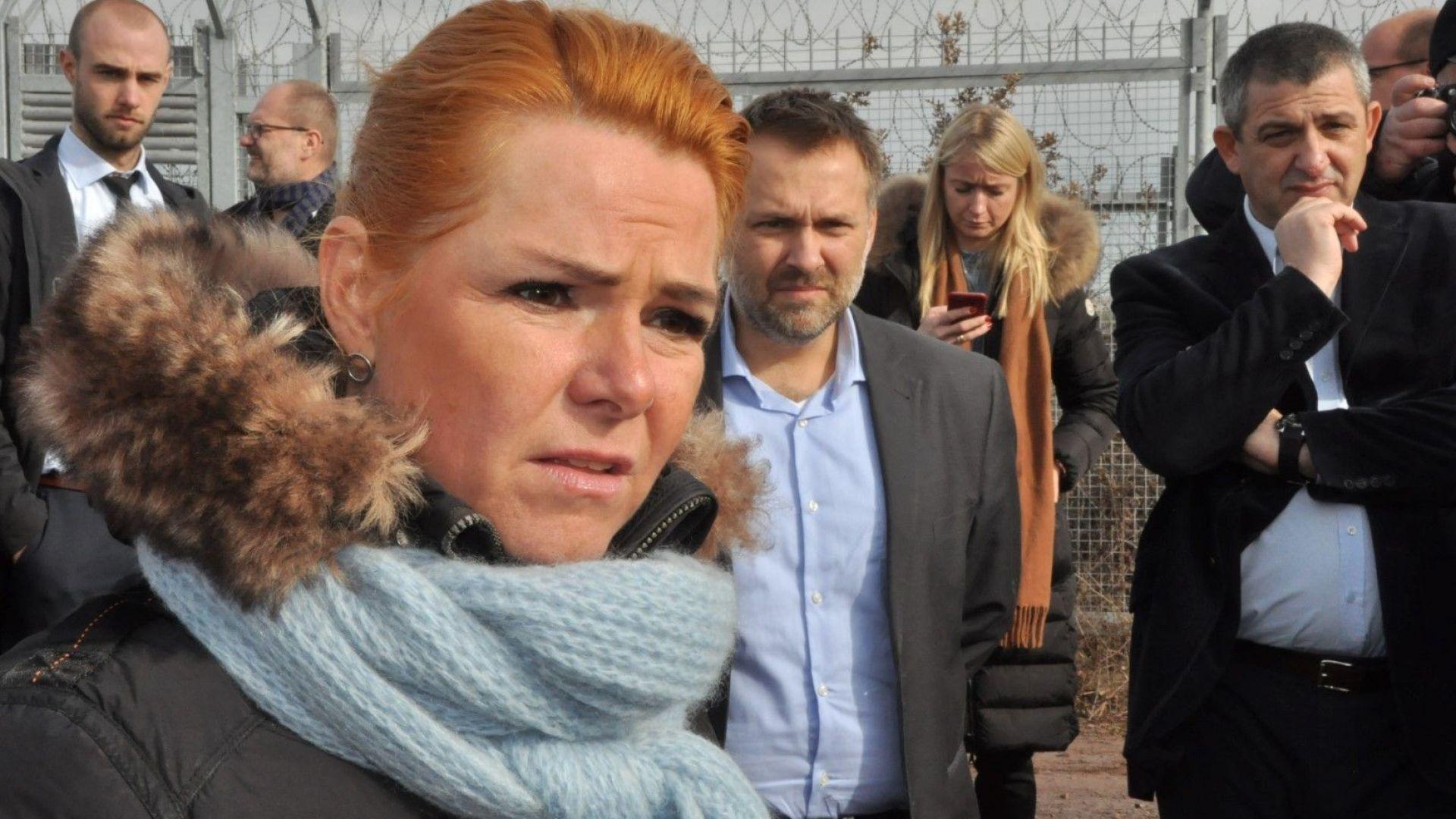България върши огромна работа по охраната на външната граница на ЕС, каза датски министър