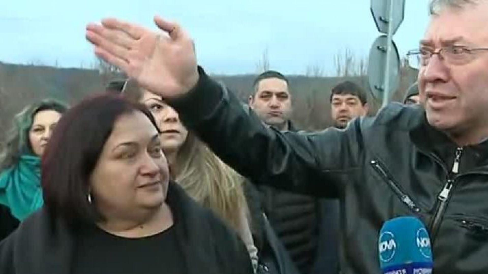 Протестите в Драгичево продължават, хората искат безопасно излизане на магистралата