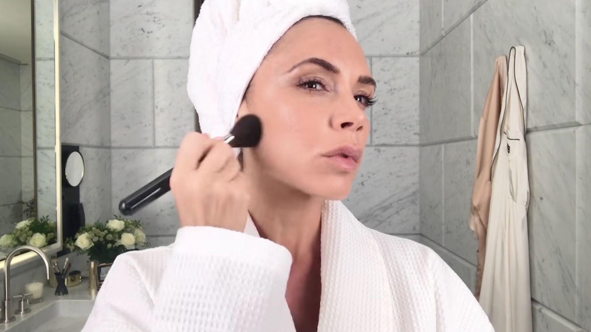 Тайната на Виктория Бекъм за красива кожа