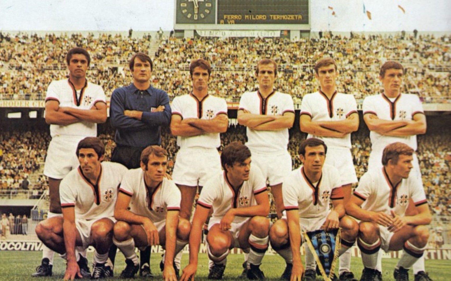 Шампионският отбор на Каляри, 1970 г.