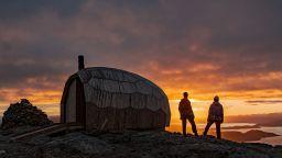 Проектираха къщички за подслон при арктически условия