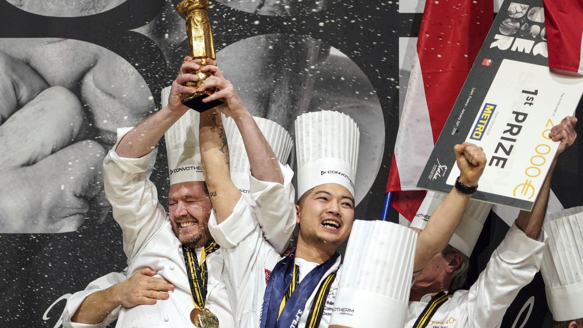 """Дания спечели кулинарната награда """"Златен Бокюз"""""""