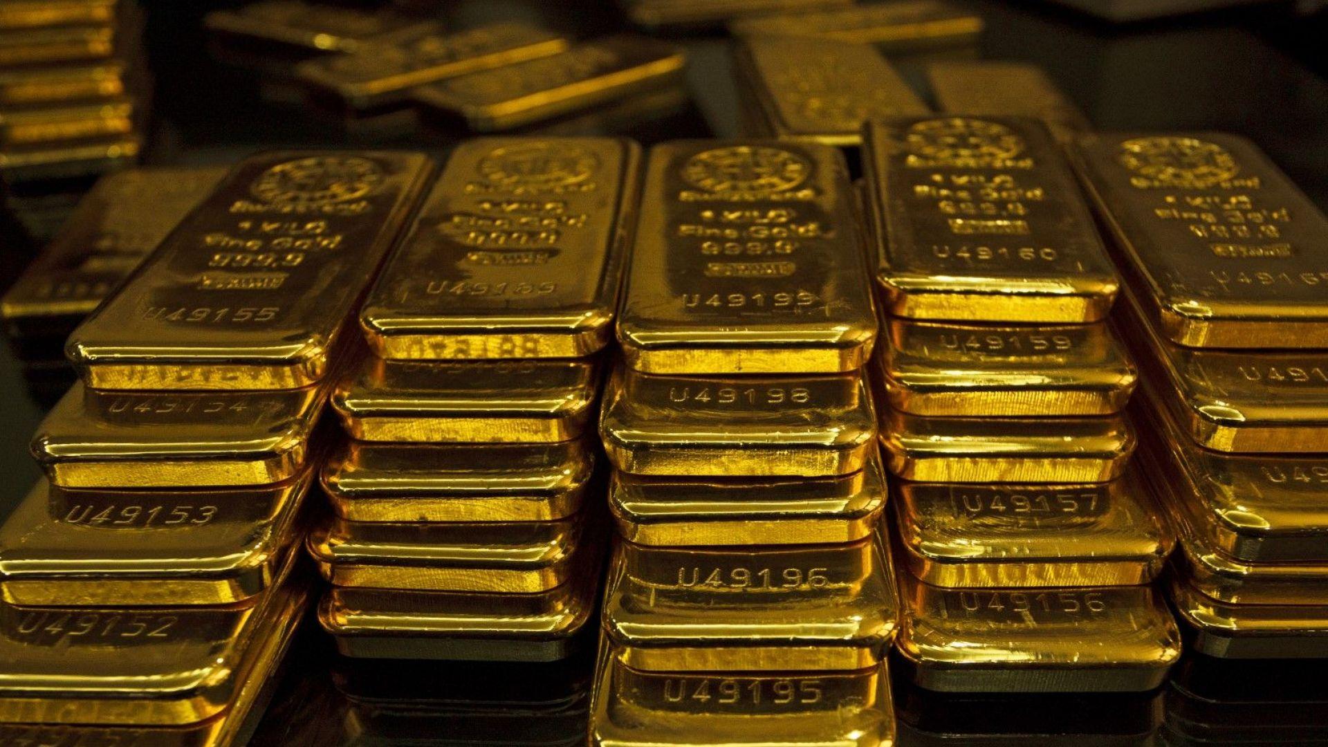 Златото стигна новата най-висока цена в историята си