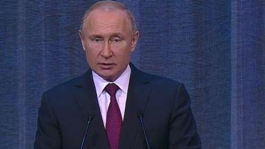 Годишното послание на Путин изтеглено за по-рано. Опит да спре падането на рейтинга си?